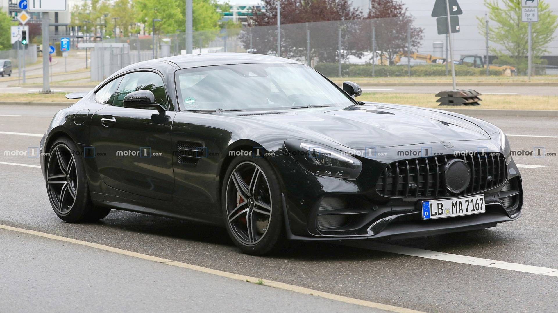 The Mercedes-AMG GT is Getting a Facelift