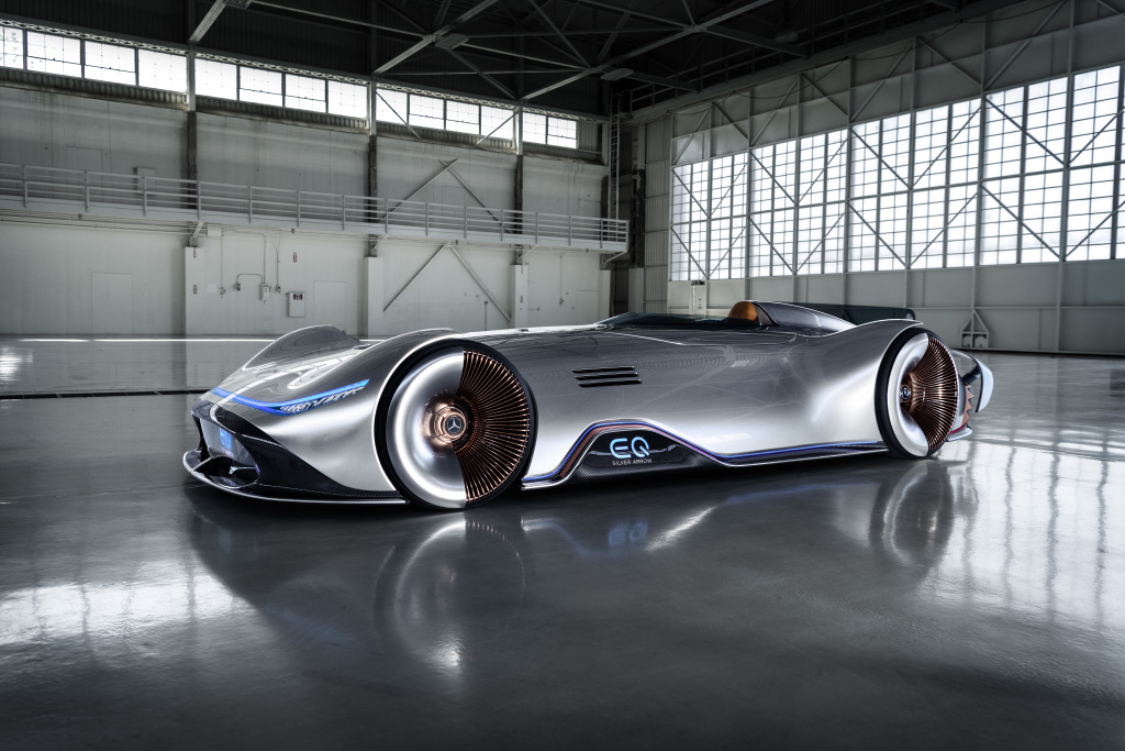 Top Features Of The Mercedes Benz Vision Eq Silver Arrow