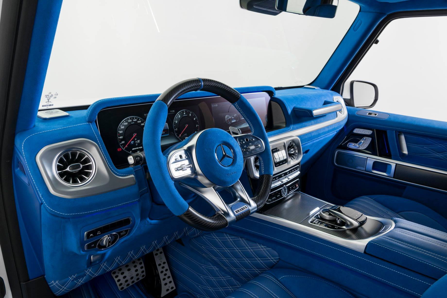 Brabus Upgrades The Interior Of The 2019 Mercedes Amg G63