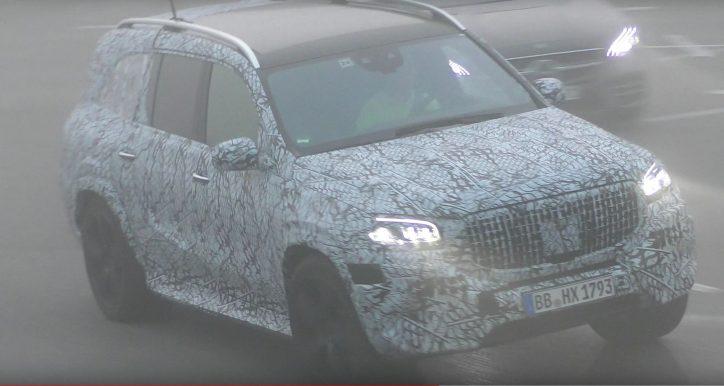 2020 Mercedes Amg Gls 63 Spy Shots Surface Online