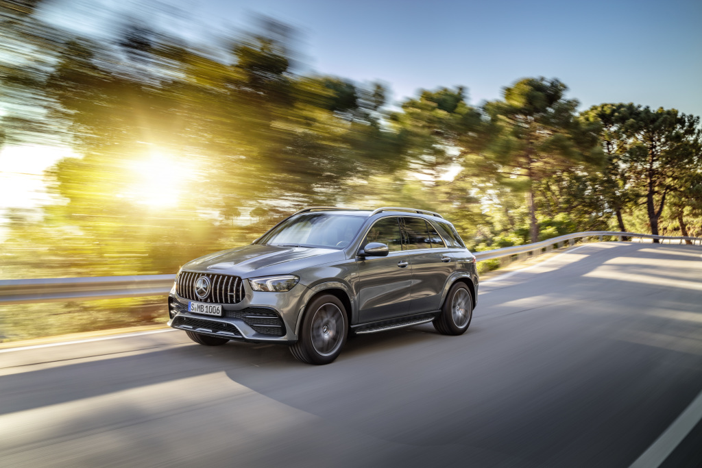 Mercedes Amg Gle 53 4matic Hybrid Suv Unveiled