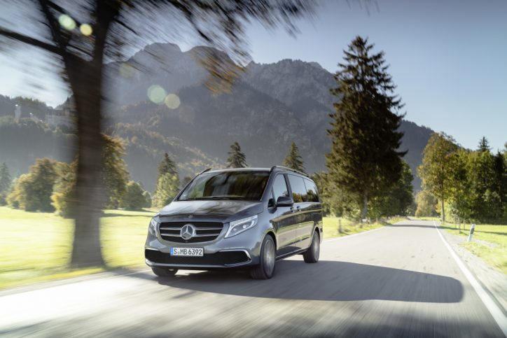 The Mercedes Benz V Class – Even more attractive.