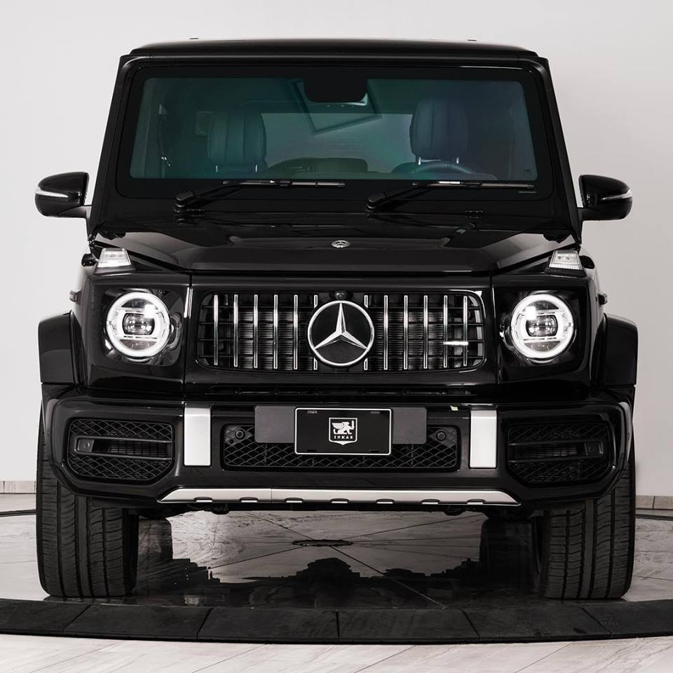 INKAS Unveils The Armored 2019 Mercedes-AMG G63