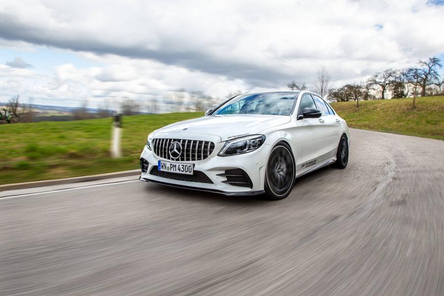 Mercedes-AMG C43 Boosted to 460 HP