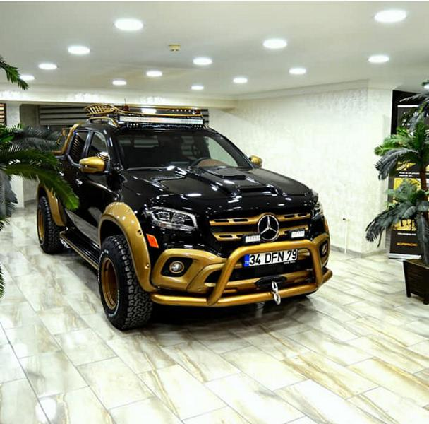 Tuned Mercedes-Benz X-Class Combines Ruggedness With Opulence