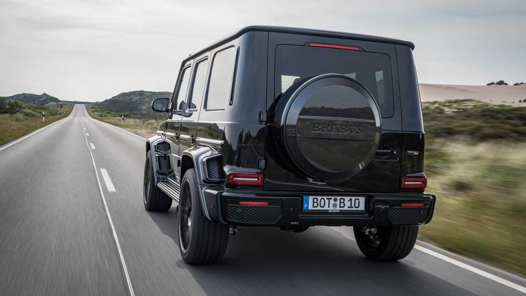 Mercedes Amg G63 Gets Black Ops And Shadow Packages From Brabus Benzinsider Com A Mercedes Benz Fan Blog