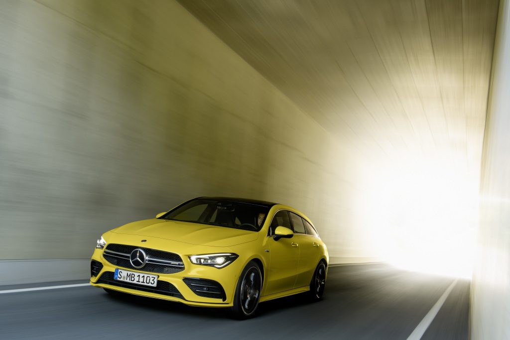 Here Comes The Mercedes AMG CLA 35 Shooting Brake