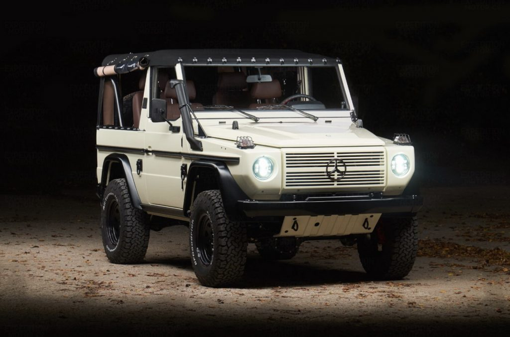 Army Spec Mercedes Benz G Class Customized With Air Lift Capability