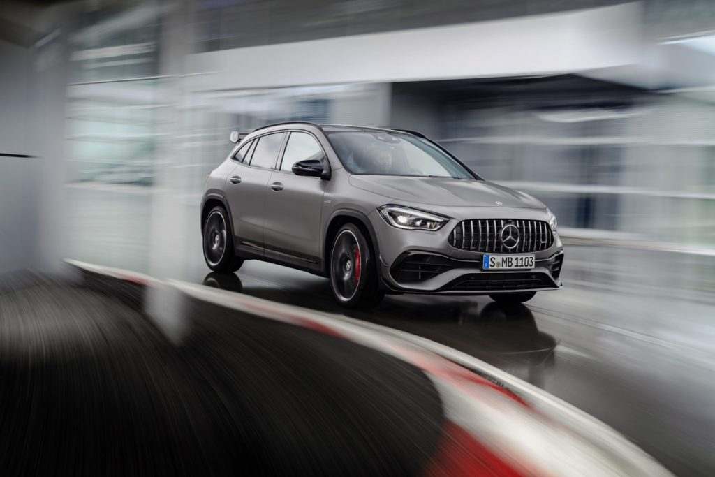 2021 Mercedes Amg Gla 45 Compact Suv Unveiled