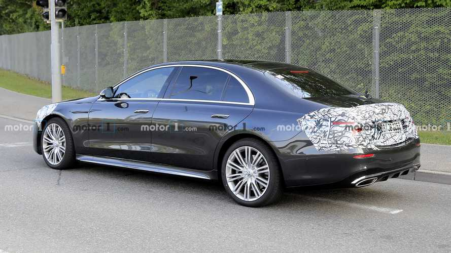 2021 mercedesbenz sclass nearly bares it all in new spy