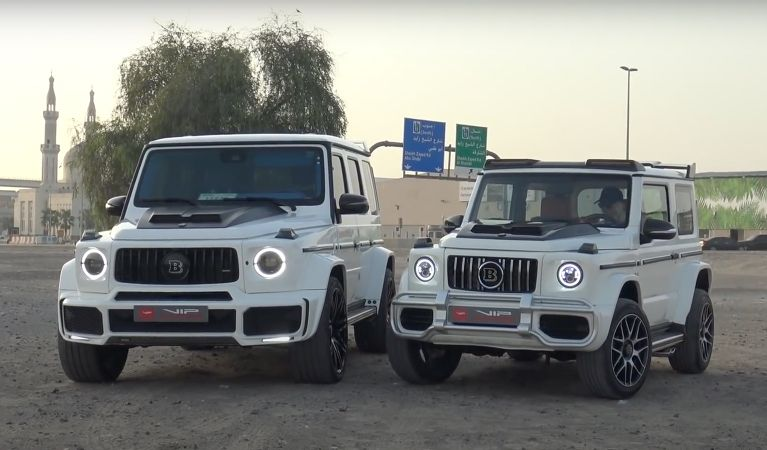 Supercar Blondie Reviews A Fake Brabus G Class Based On Suzuki Jimny