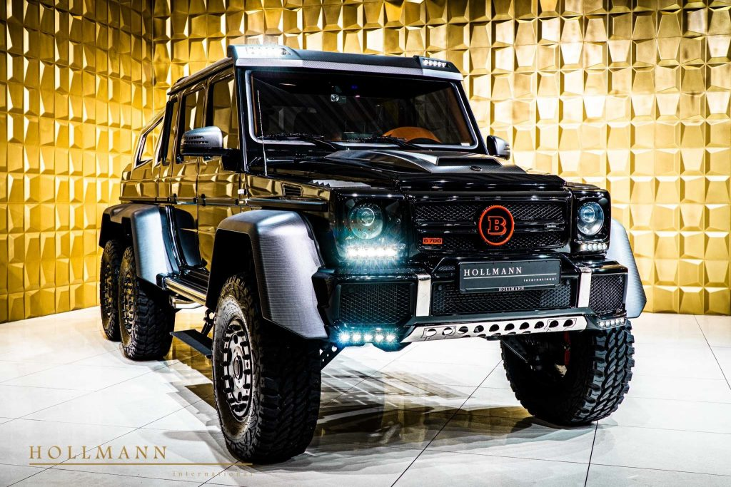 Brabus Mercedes Amg G63 6x6 At 900 000 Is An Amazing Find