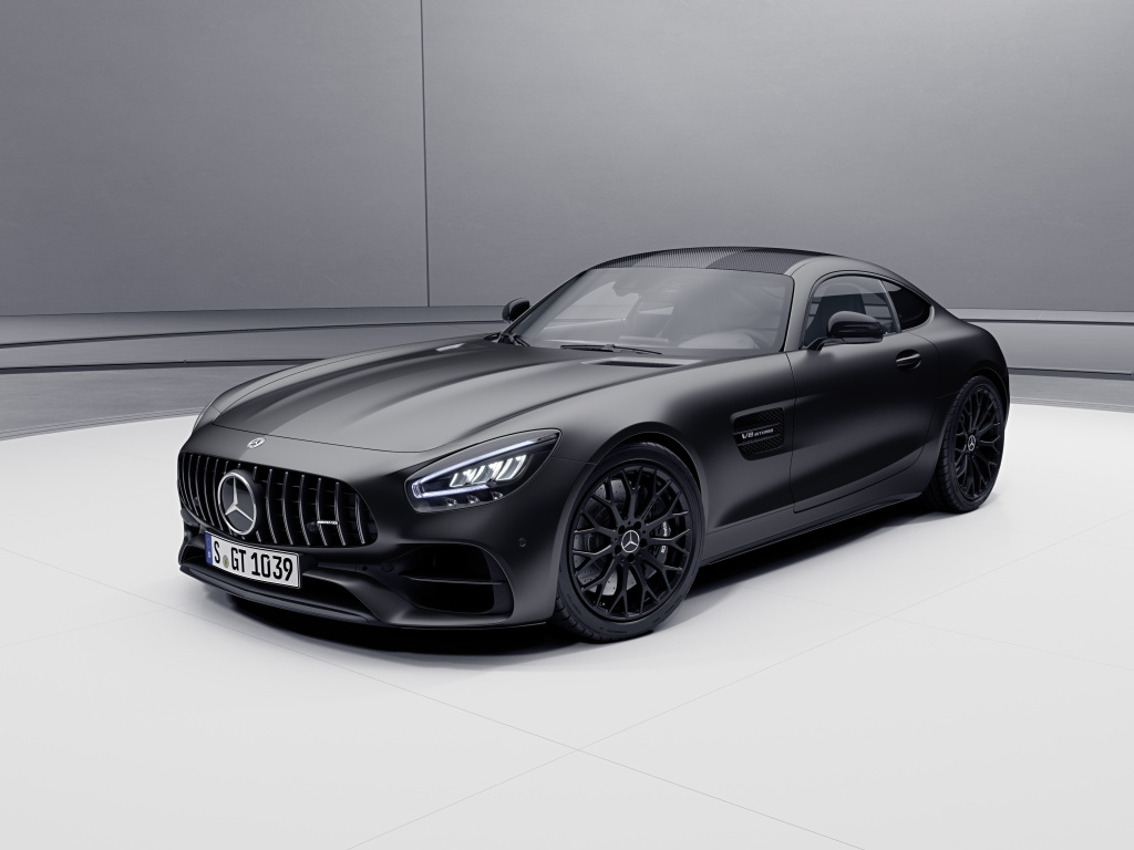 Mercedes-AMG GT Updated, New Night Edition Unveiled, AMG GT S Axed