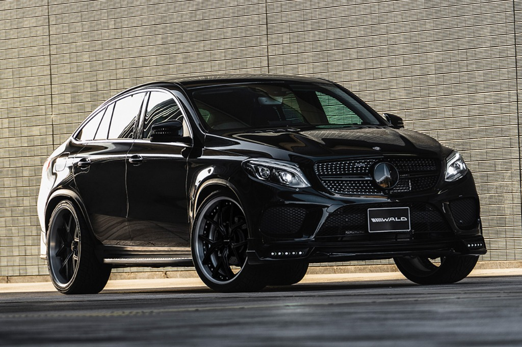Wald Gives The Mercedes Benz Gle Coupe A Blacked Out Look