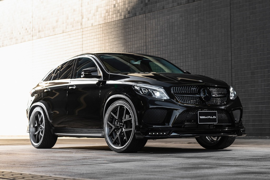 Wald Gives the Mercedes-Benz GLE Coupe a Blacked-Out Look
