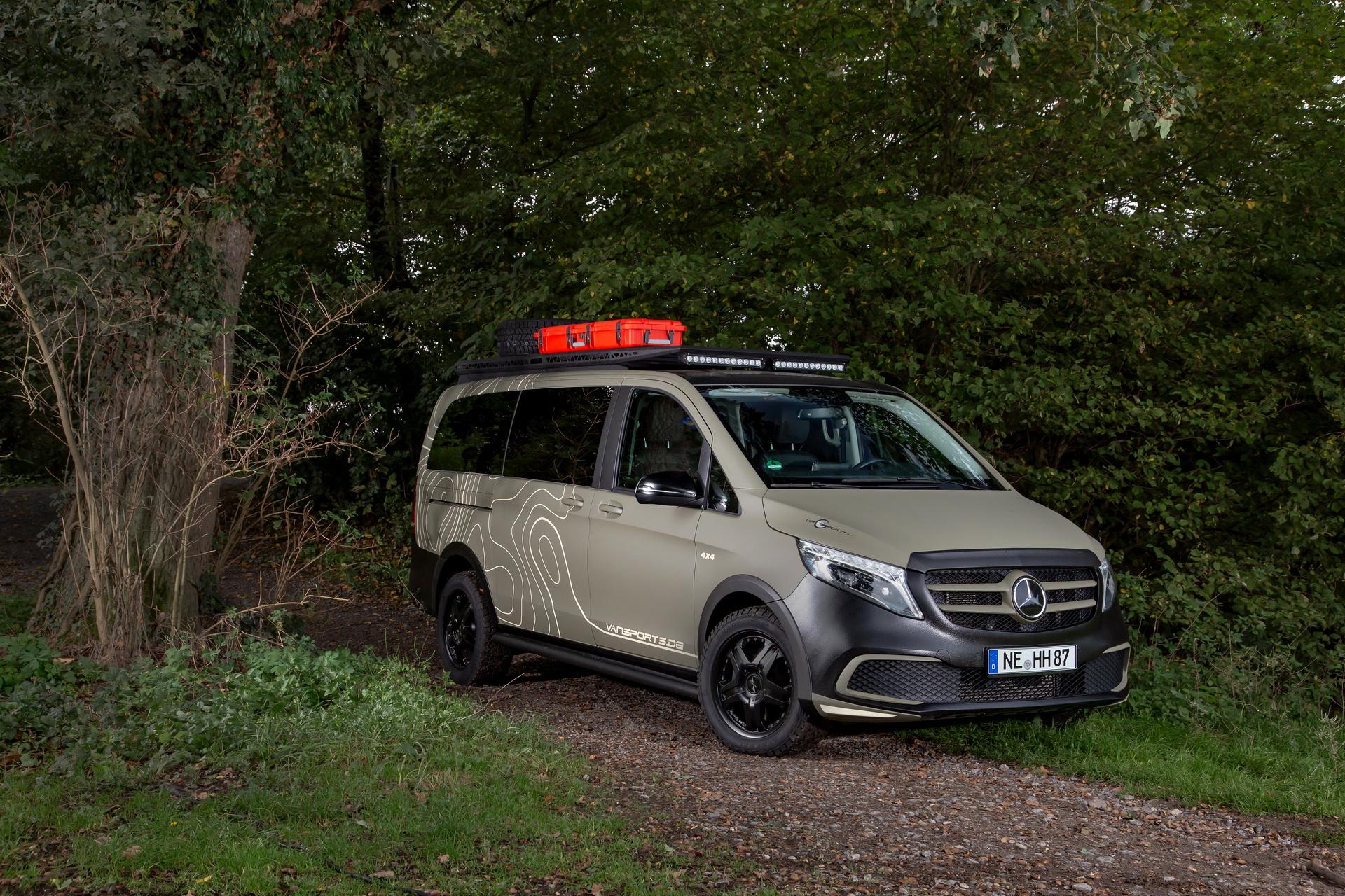 Escape the Urban Jungle with Hartmann's Mercedes-Benz V-Class GeoTrek
