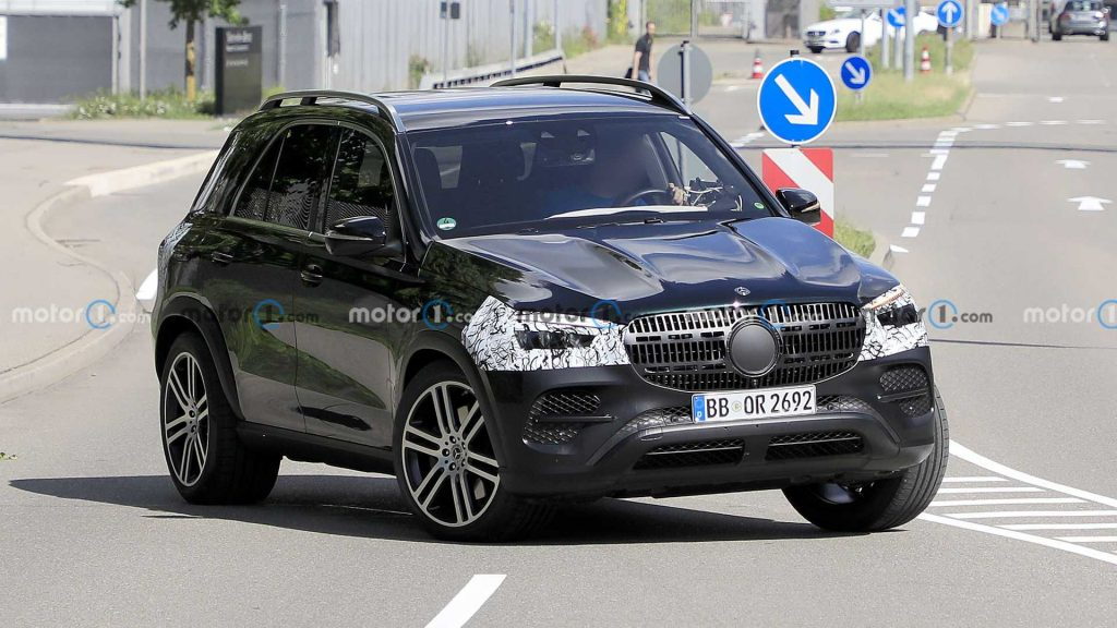 mercedes amg gle suv 1 1024x576 - Another Facelifted Mercedes-Benz GLE SUV Spied